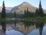 Two Medicine Lake, Glacier National Park, Montana, Usa Photographic Print by Tim Fitzharris