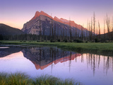 Mount Rundle at Sunrise, Banff National Park, Alberta, Canada Photographic Print by Tim Fitzharris