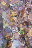 Utah. Abstract Design Formed by Water Rushing over Colorful River Rocks in Hunter Canyon, Moab Photographic Print by Judith Zimmerman