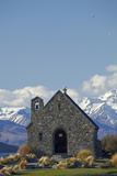 Church of the Good Shepherd, Lake Tekapo, South Island, New Zealand Photographic Print by David Wall