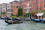 Gondola in Grand Canal. Venice. Italy Photographic Print by Tom Norring
