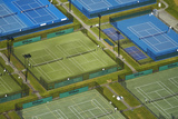Tennis Courts, Albany, Auckland, North Island, New Zealand Photographic Print by David Wall
