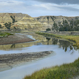 Little Missouri River, Theodore Roosevelt National Park, North Dakota Photographic Print by Tim Fitzharris