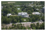 Aerial view of the White House, Washington, D.C. Prints by Carol Highsmith