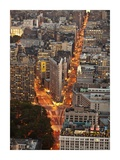 Aerial view of Flatiron Building, NYC Posters by Michel Setboun