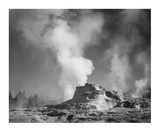 Castle Geyser Cove, Yellowstone National Park, Wyoming, ca. 1941-1942 Posters by Ansel Adams