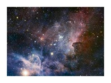 Carina Nebula Infrared from HAWK-I Posters by  ESO