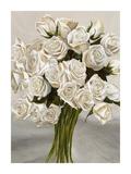 Bouquet Blanc II Posters by Leonardo Sanna