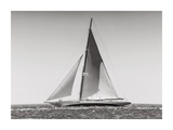 Classic racing sailboat Poster by  Anonymous