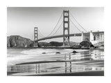Baker beach and Golden Gate Bridge, San Francisco Prints by  Anonymous