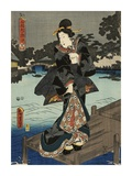 Costumes in Five Different Colors - Black (Kuro) Posters by Utagawa Kunisada (Toyokuni III)