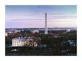 Dawn over the White House, Washington Monument, and Jefferson Memorial, Washington, D.C. Prints by Carol Highsmith