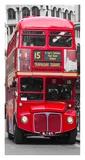 Double-Decker bus, London Print by  Pangea Images