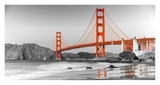 Golden Gate Bridge, San Francisco Prints by  Anonymous