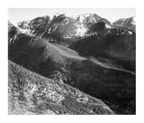 Hills and mountains, in Rocky Mountain National Park, Colorado, ca. 1941-1942 Posters by Ansel Adams