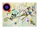 Composition VIII Poster von Wassily Kandinsky