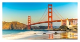 Golden Gate Bridge, San Francisco Posters by  Anonymous