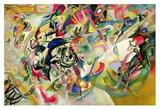 Composition No. 7 Kunstdrucke von Wassily Kandinsky