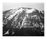 Full view of barren mountain side with snow, in Rocky Mountain National Park, Colorado, ca. 1941-19 Posters by Ansel Adams