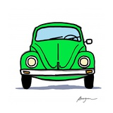 Green Bug Poster by Carlos Beyon