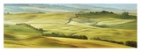 Tuscany landscape, Val d'Orcia, Italy Posters by Frank Krahmer