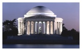 Jefferson Memorial, Washington, D.C. - Vintage Style Photo Tint Variant Prints by Carol Highsmith