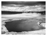 Fountain Geyser Pool, Yellowstone National Park, Wyoming, ca. 1941-1942 Prints by Ansel Adams