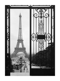 Eiffel Tower from the Trocadero Palace, Paris Kunst af  Anonymous