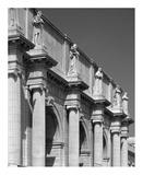 Union Station facade and sentinels, Washington, D.C. - B&W Prints by Carol Highsmith