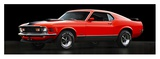 Ford Mustang Mach 1 Prints by  Gasoline Images