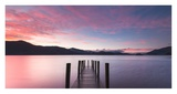 Twilight on lake, UK Prints by  Anonymous