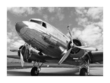 DC-3 in air field, Arizona Prints by  Anonymous