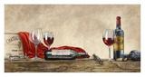 Grand Cru Wines (detail) Prints by Sandro Ferrari