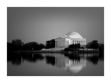 Jefferson Memorial, Washington, D.C. Number 2 - Black and White Variant Posters by Carol Highsmith