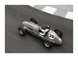 Historical race car at Grand Prix de Monaco Poster von Peter Seyfferth