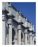 Union Station facade and sentinels, Washington, D.C. Prints by Carol Highsmith