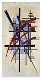 Zeichen mit Begleitung Láminas por Wassily Kandinsky