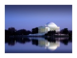 Jefferson Memorial, Washington, D.C. Number 2 - Vintage Style Photo Tint Variant Poster by Carol Highsmith