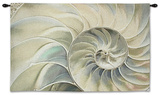 *Exclusive* Nautilus Ocean Blue Wall Tapestry - Small Wall Tapestry