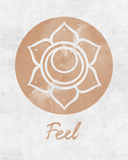 Chakra - Feel Posters af Sasha Blake