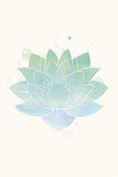 Mindfulness - Lotus Print by Sasha Blake