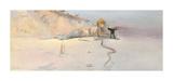 Hot Wind Giclée-Premiumdruck von Charles Conder