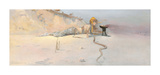 Hot Wind Premium Giclee Print by Charles Conder