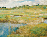 The Concord Meadow, c.1890 Giclée-tryk af Frederick Childe Hassam
