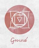 Chakra - Ground Posters af Sasha Blake