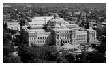 Thomas Jefferson Building from the U.S. Capitol dome, Washington, D.C. - B&W Prints by Carol Highsmith