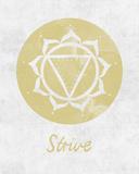 Chakra - Strive Affiches par Sasha Blake