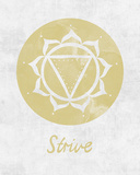 Chakra - Strive Prints by Sasha Blake