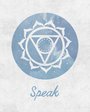 Chakra - Speak Affiches par Sasha Blake