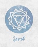 Chakra - Speak Plakater af Sasha Blake